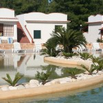 villaggio con piscina sul gargano