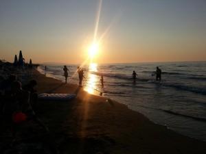 Spiaggia del Camping Villaggio Siesta
